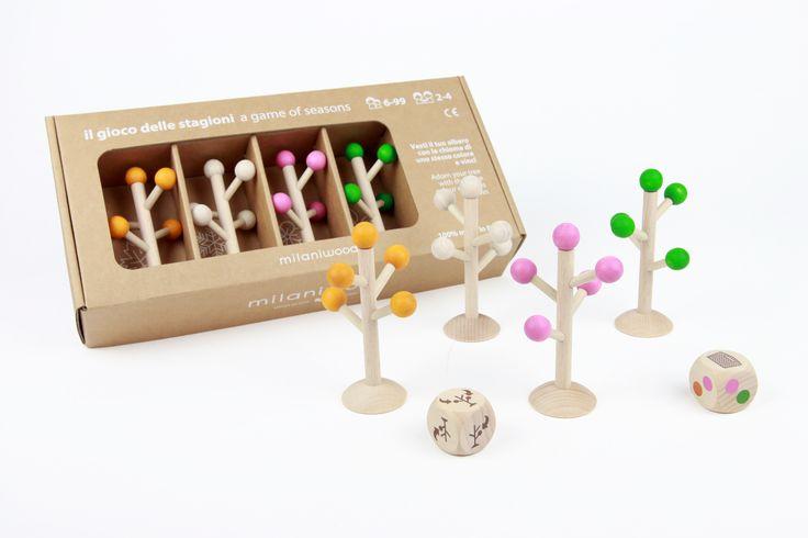 Chi completerà per primo il suo albero?  http://www.milaniwood.com/products/105-il-gioco-delle-stagioni-gioco-di-societa-in-legno-stagioni-alberi-milaniwoodcom.aspx