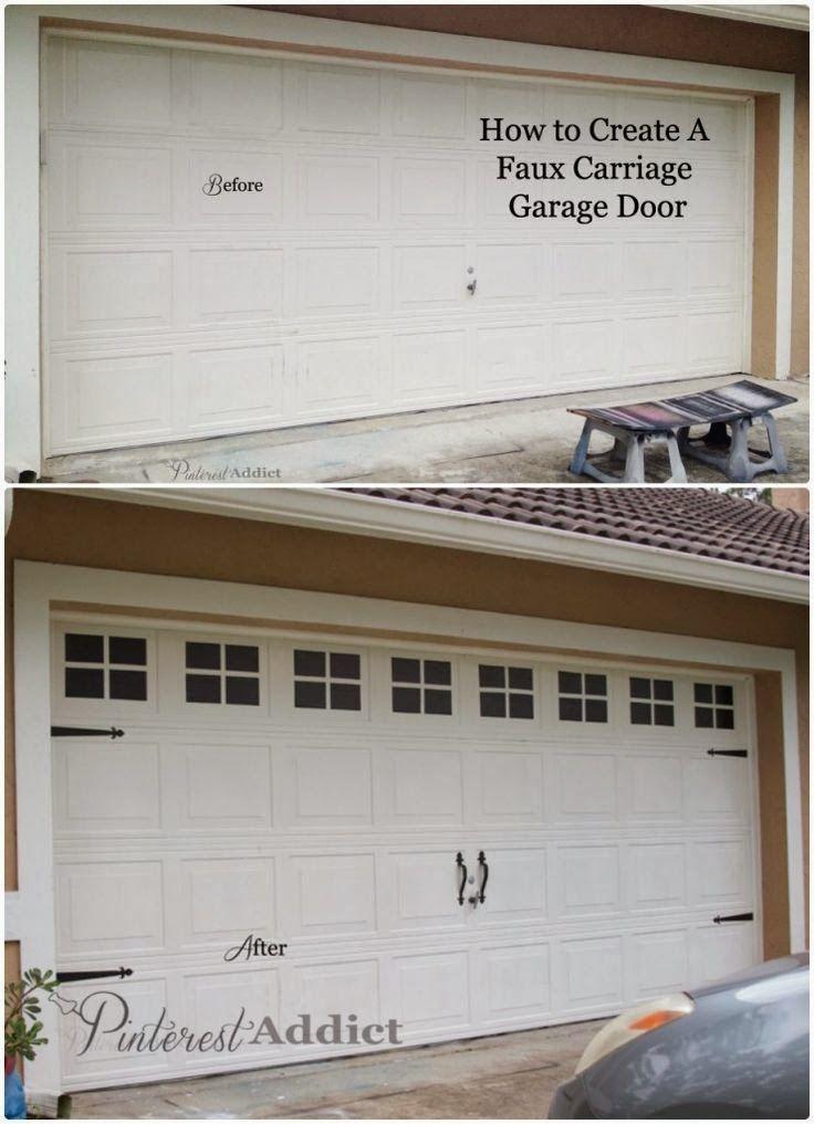 17 Best Ideas About Garage Door Makeover On Pinterest