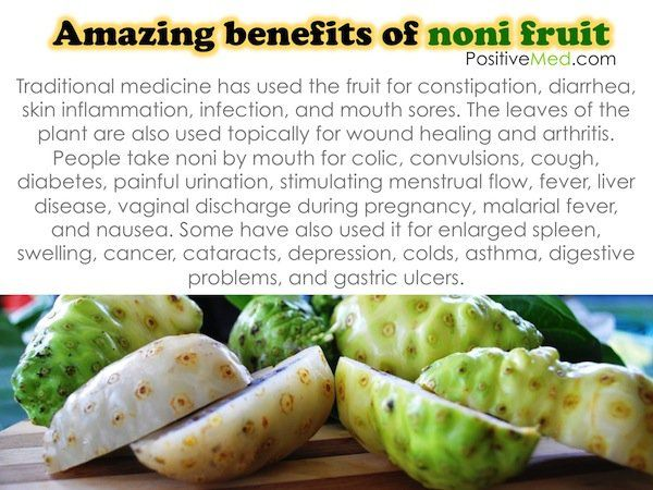 noni fruit health benefits