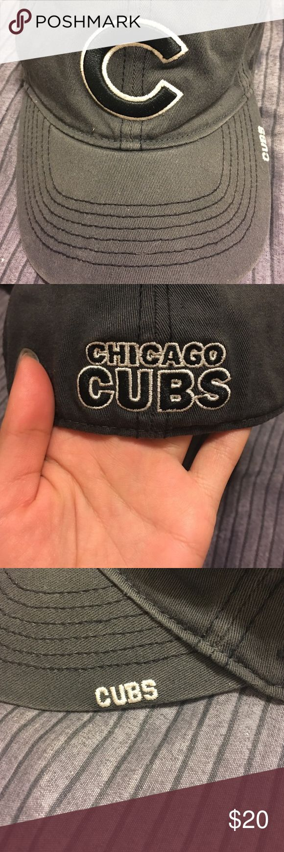 Cubs Fitted Baseball Cap. Official MLB merch. Chicago Cubs, 2016 World Series Champions Official MLB Merchandise. Fitted Baseball Cap. 47 Accessories Hats