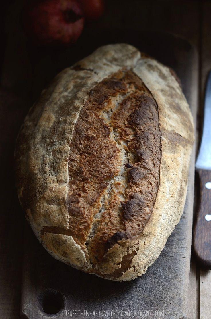 Przepis na chleb, który nie wymaga specjalnych technik, nie jest pracochłonny, wymaga jedynie podejścia do niego na 10-15sek., kolejno c...