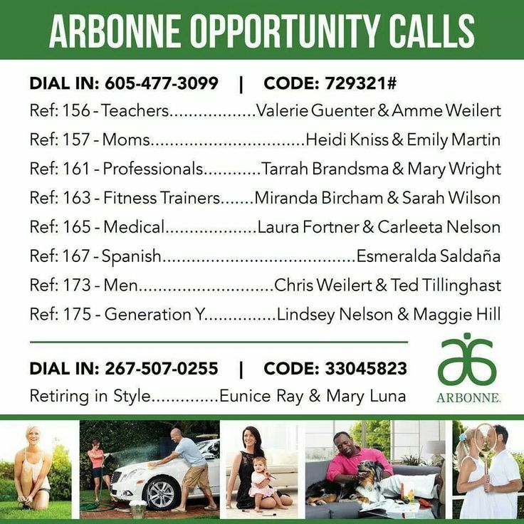 Arbonne is for everyone...Learn more here - call in and listen to a recorded call! :-)