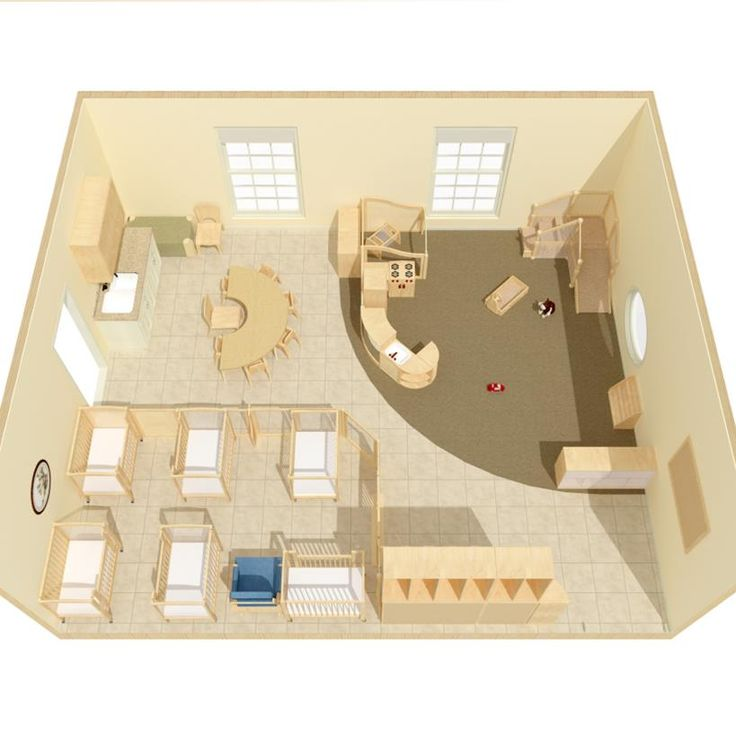 17 best images about my montessori classroom on pinterest for Small daycare floor plans