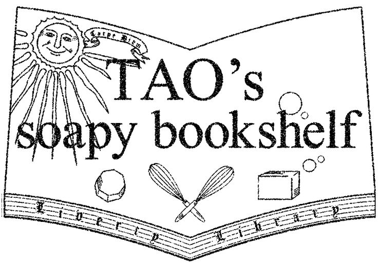 TAO's soapy book shelf
