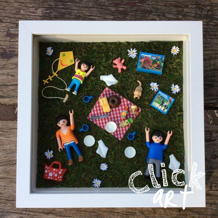 Cuadro playmobil de picnic!
