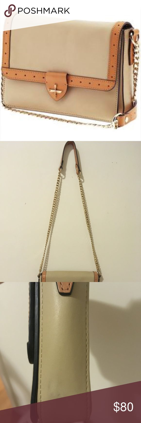 """Pour La Victoire Aline Crossbody/Shoulder Bag (Not Zara- listed for exposure) This beautiful leather bag can be used in casual and more formal occasions! It measures 2.5 x 10 x 7 inches with 42"""" inch drop. It's been gently used for just couple of times! 👍🏼 Zara Bags Crossbody Bags"""