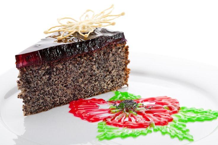 Маковый торт ко Дню Святого Валентина