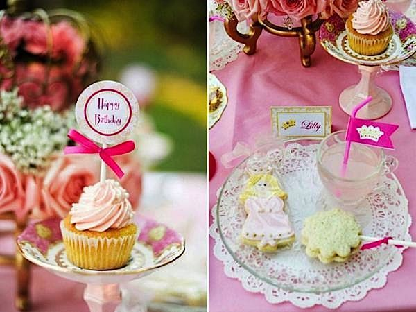 princess pink fairytale magical enchanted birthday party ideas party printables supplies partyware party paperie party stationery04_600x450