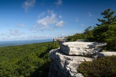 Sam's Point Preserve – Ice Caves, Verkeerder Kill Falls, High Point - near New Paltz, NY