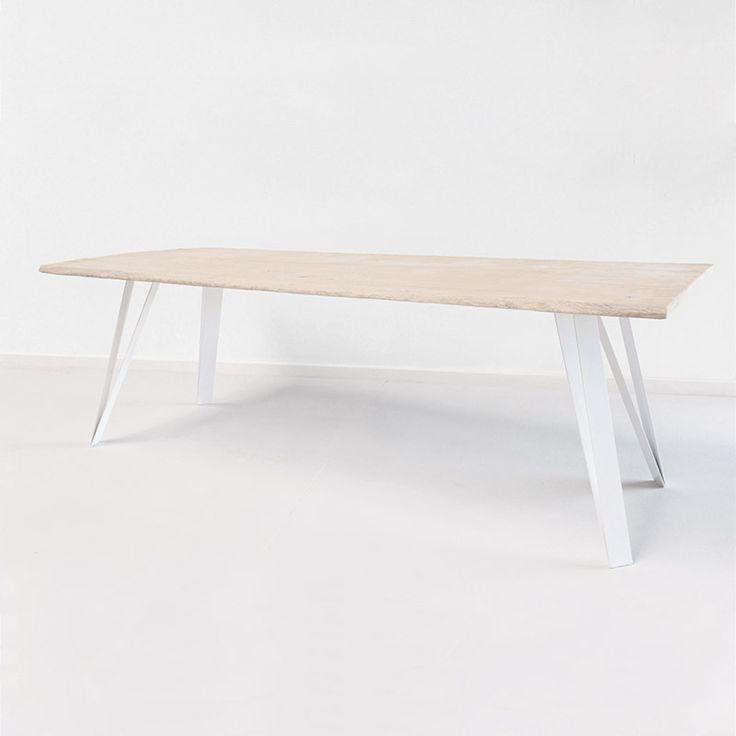 Les 25 meilleures id es de la cat gorie pied de table for Pieds metal pour table