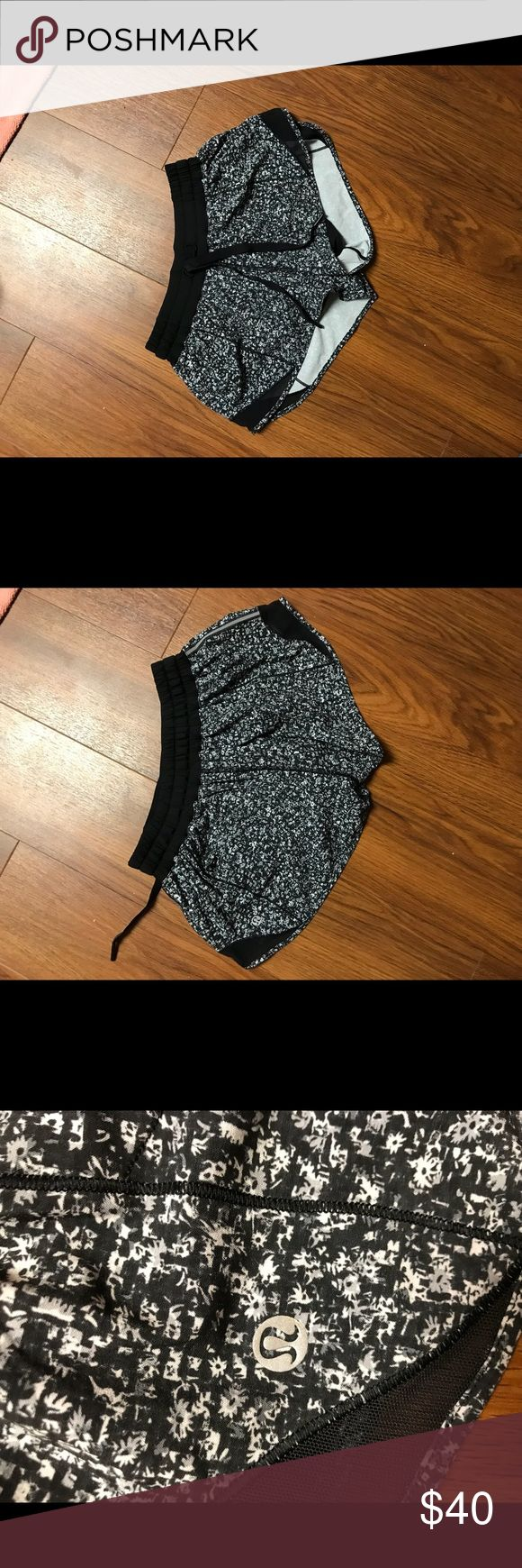New Lululemon shorts! New! Worn once or twice, size 4. Nothing wrong with them just ordered them online and a little small on me. lululemon athletica Shorts