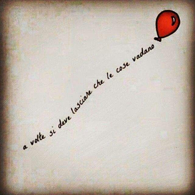 Lascia andare...