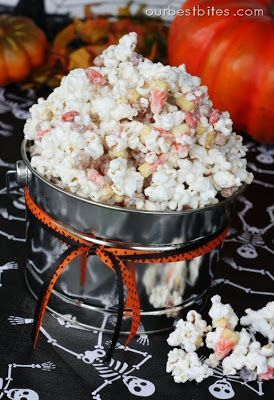 Monster Munch Halloween Popcorn Mix from Our Best Bites