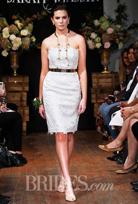 Brides: Sarah Jassir Wedding Dresses - Fall 2015 - Bridal Runway Shows - Brides.com