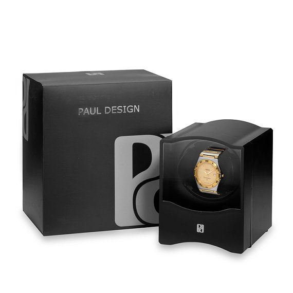 Watch Winder - Black - Single Watch
