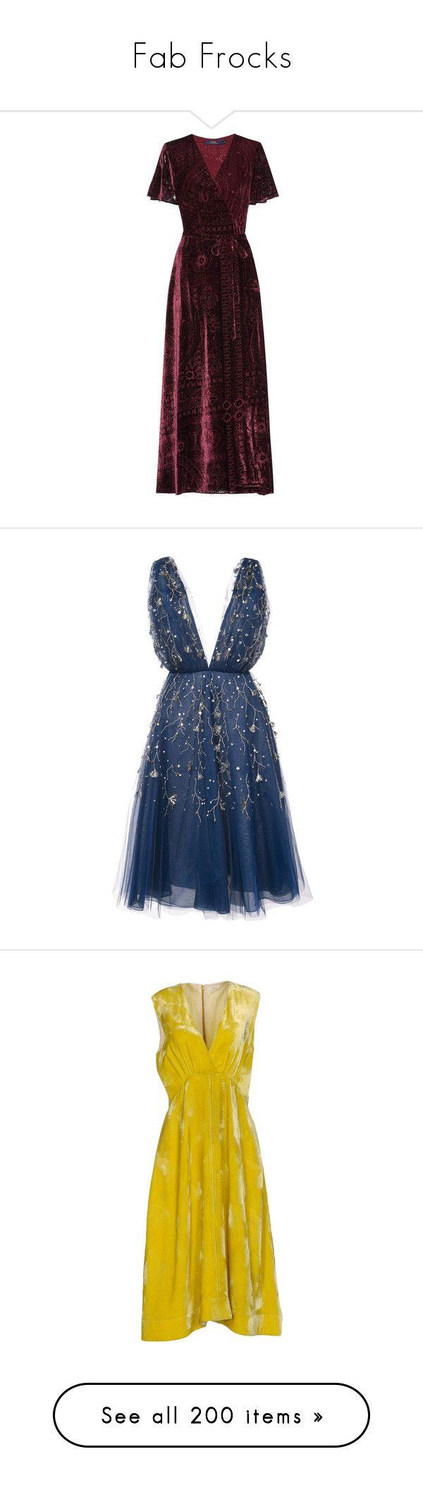 """Fab Frocks"" by halcyon-heart ❤ liked on Polyvore featuring dresses, purple, purple dress, polo ralph lauren dress, polo ralph lauren, short dresses, cocktail dresses, vestido, blue and blue mini dress"
