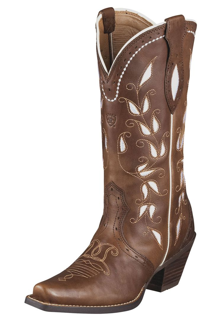 Ariat Brown Sonora Cowgirl Boots $179.95 Free Shipping...have these! And totally love them <33
