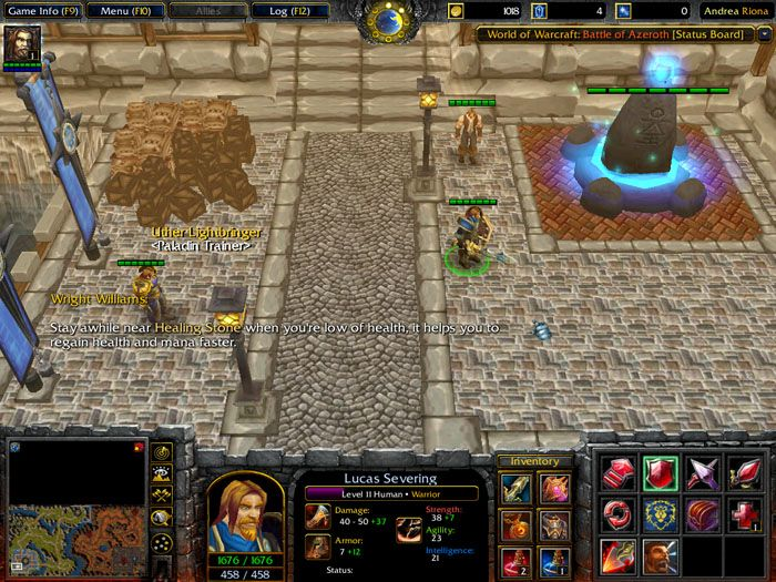 warcraft 3 frozen throne free  game