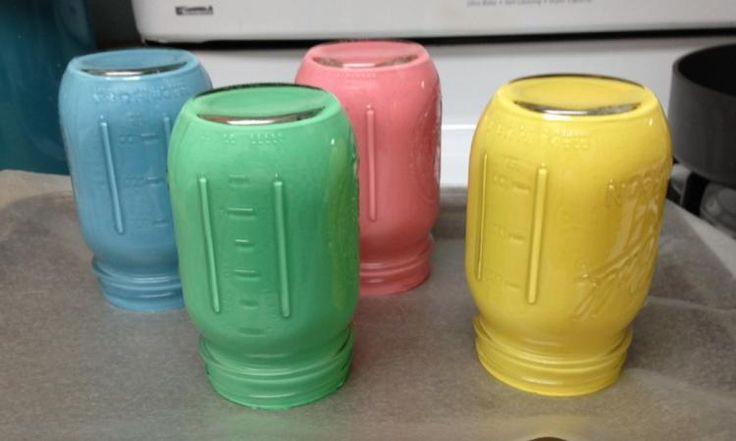 10 magnifiques façons de récupérer les pots de tous genres pour décorer la maison et le jardin!