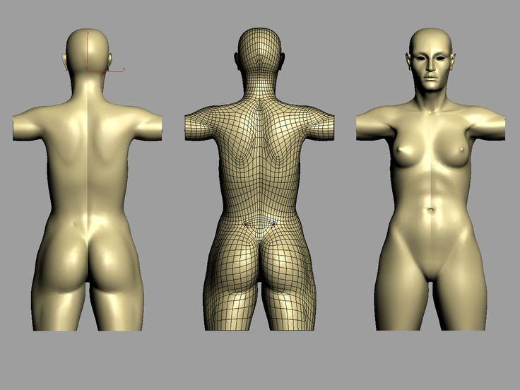 Psyche – Character modeling studies (Part 2) - Autodesk Community