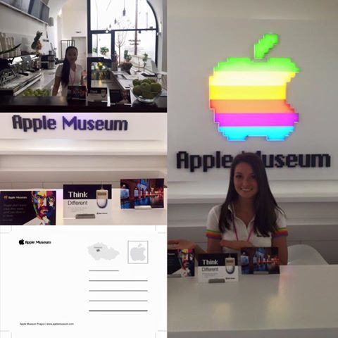 Let your friends know you have been at AppleMuseum - send them a postcard :-)