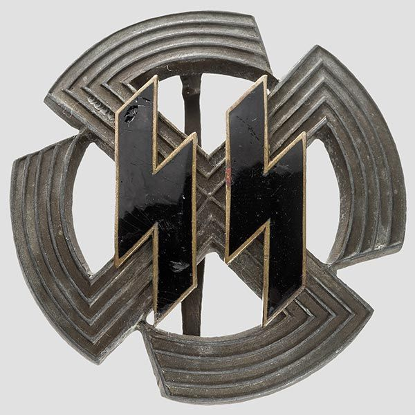 The Germanic Proficiency Runes Badge was intended to be awarded solely to non-German members of the Germanic-SS who were serving the SS in countries under Nazi occupation.The award was issued in a bronze and silver grade, depending on the physical prowess displayed by the person so awarded. In that respect, this badge was similar to the SS Sports Badge. Today the GPR Badge is extremely rare and highly sought after by collectors.
