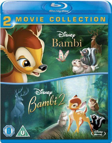 Please note that this is a UK Import and Disney Rewards are not available in the US (only available in the UK). Double bill of two popular animated adventures. 'Bambi' (1942) follows young male deer