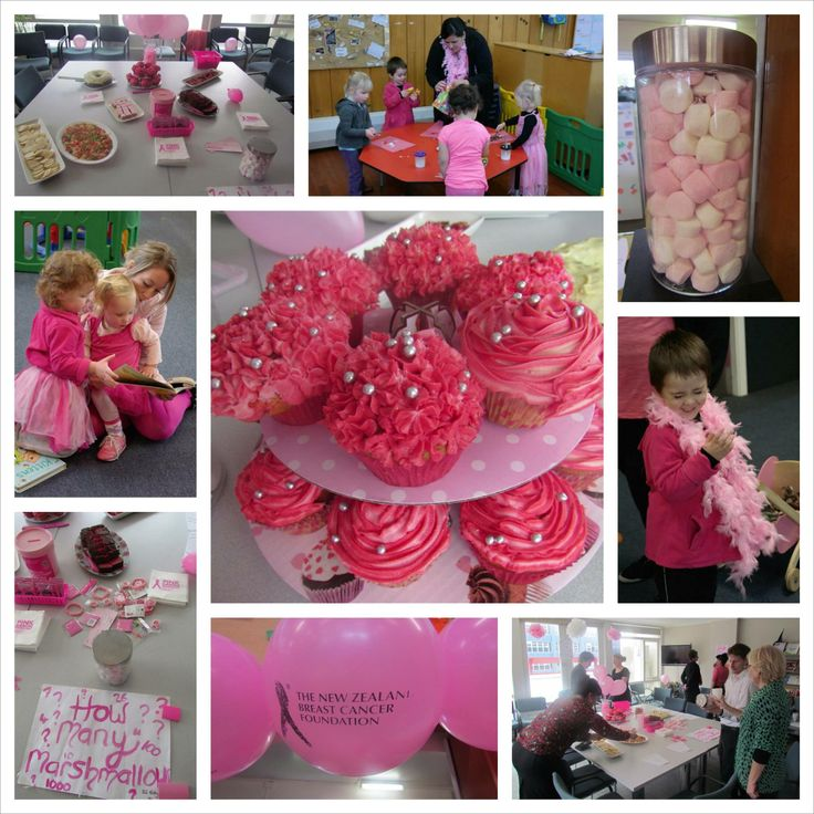 Amy and her team of helpers at Glendale Playgroup had a very pink day!