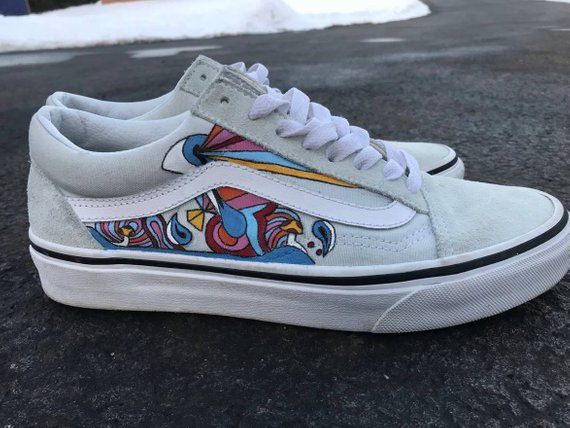 Vans Authentic Sneaker Psychedelic Floral | Sneakers
