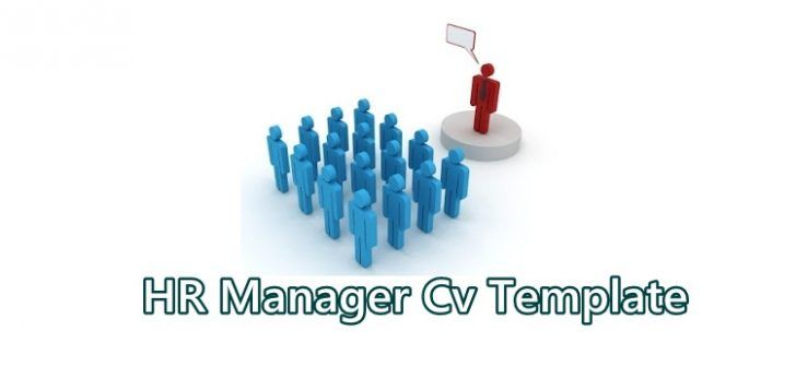 Human Resources Manager Cv Template Occupational Cv Examples - human resource examples