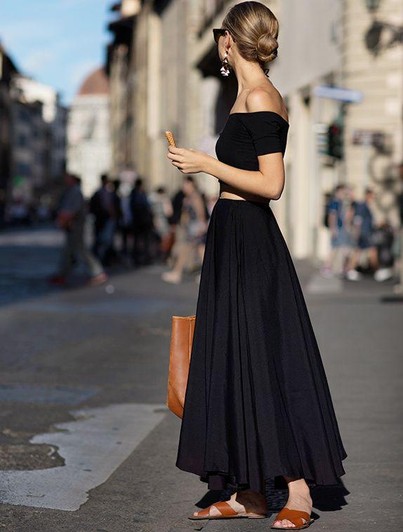 Le noir estival : à consommer sans modération ! (blog The Sartorialist)