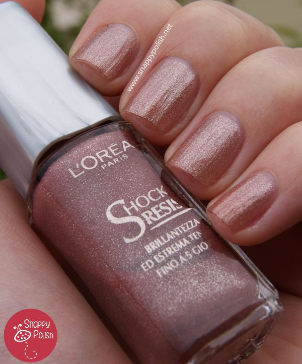 Discontinued Day #6: L'Oréal Shock Resist