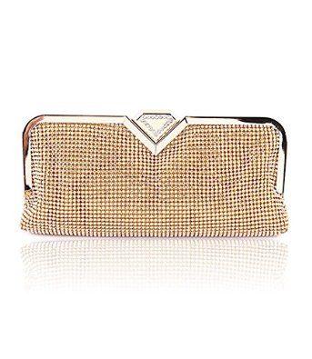 Generic Clutch Evening Bags Rhinestone Crystal Sparkly Purse for Women