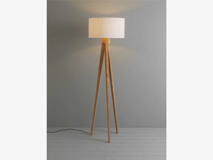 tripod natural ash ash floor lamp base habitatuk vardagsrum pinterest. Black Bedroom Furniture Sets. Home Design Ideas