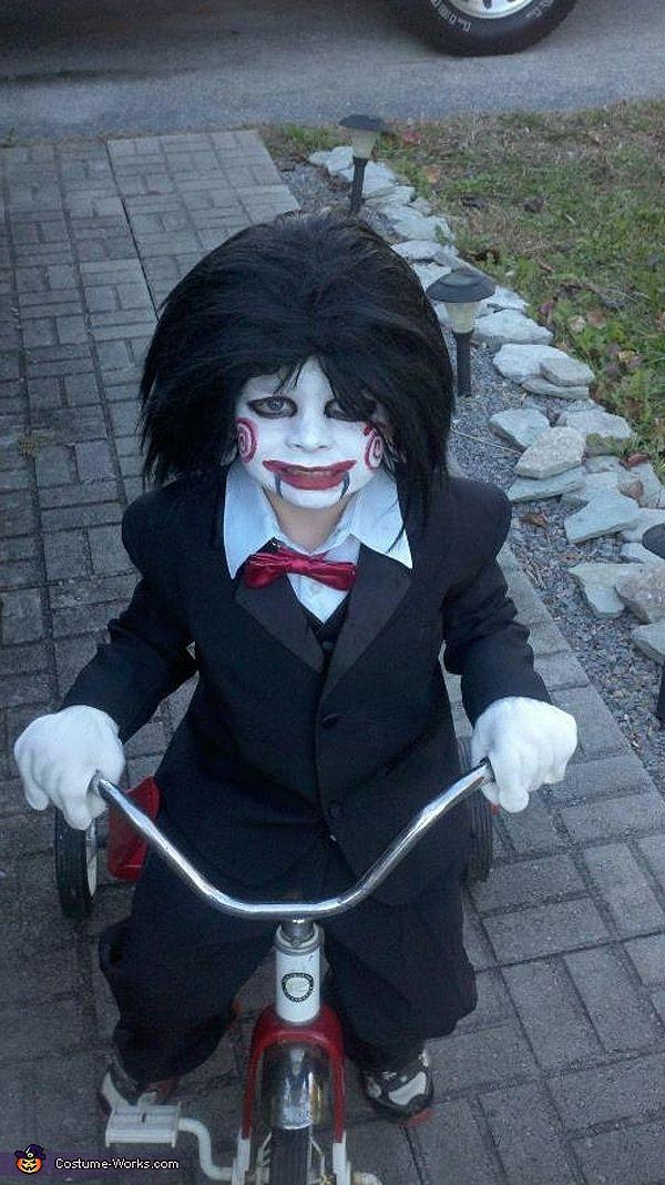 Disfraces de Halloween: Saw.