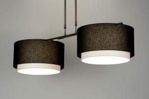 Hanglamp 30132: Modern, Eigentijds Klassiek, Landelijk Rustiek, Taupe