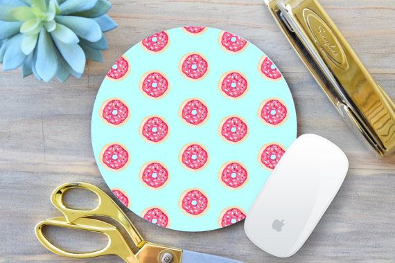 Donut Mouse Pad, Mouse Pad, Funny Mouse pad, Christmas Gift for coworker, Gift for Boss, Gift for Coworker, Office Decor, Mousemat, Mousepad