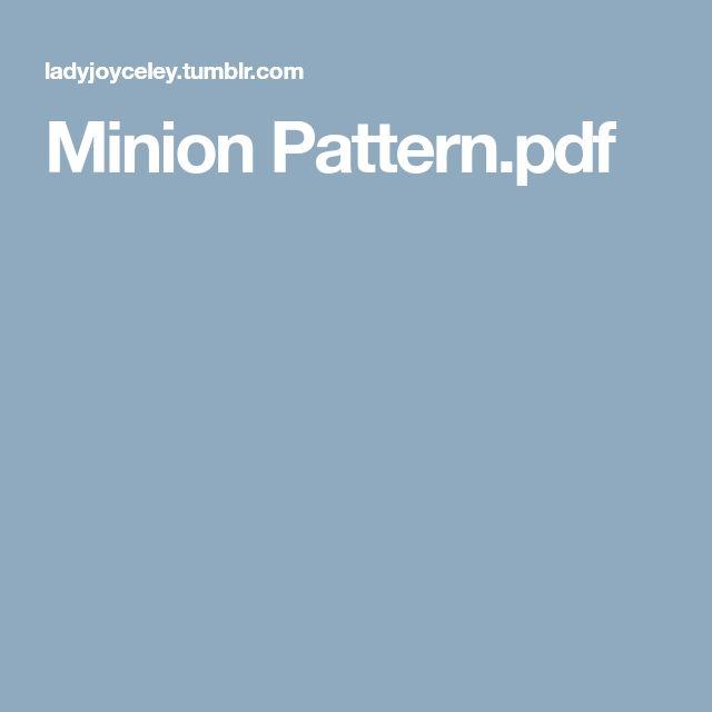 Minion Pattern.pdf
