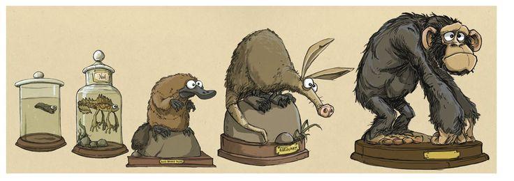 Evolution - Jonny Duddle.