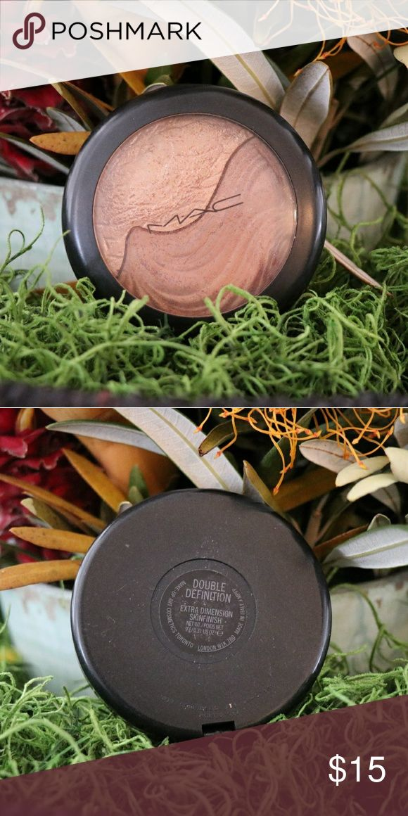 MAC Double Definition Extra Dimension Skinfinish Slightly Used in good condition, no box MAC Cosmetics Makeup Bronzer
