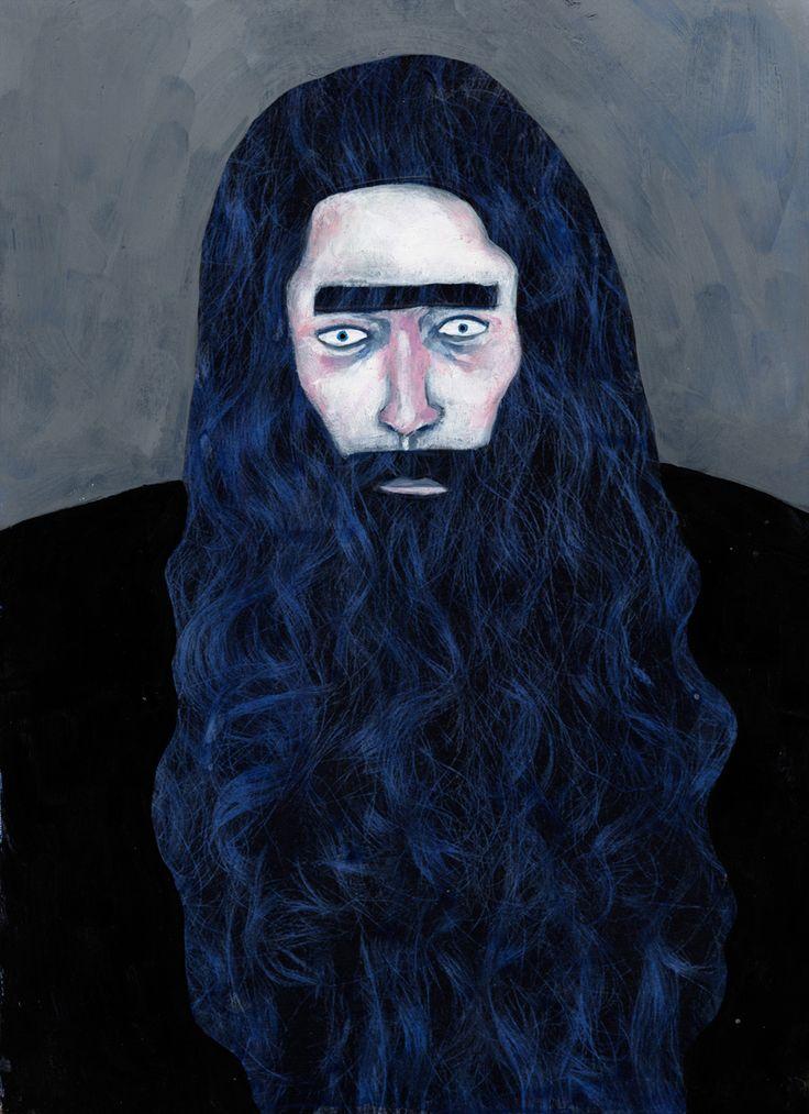 """Barbe Bleue"" - Ill. Stephanie Aubin"
