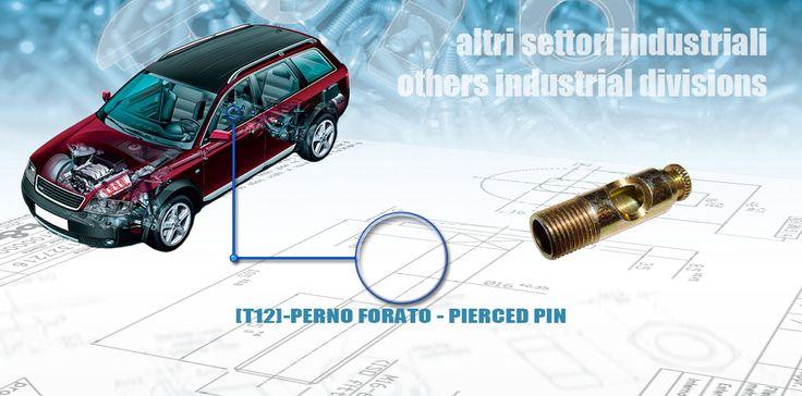 [T12]-PERNO FORATO - PIERCED PIN