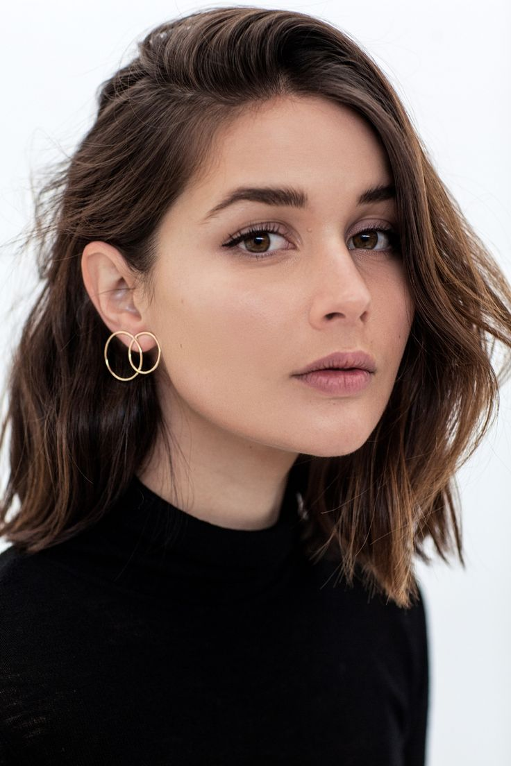 Who needs a buddy when these guys are just as good on their own. Wearing: Natasha Schweitzer double loop single earring Wearing: Natasha Schweitzer Overture earring Wearing: Holly Ryan Spike earrin