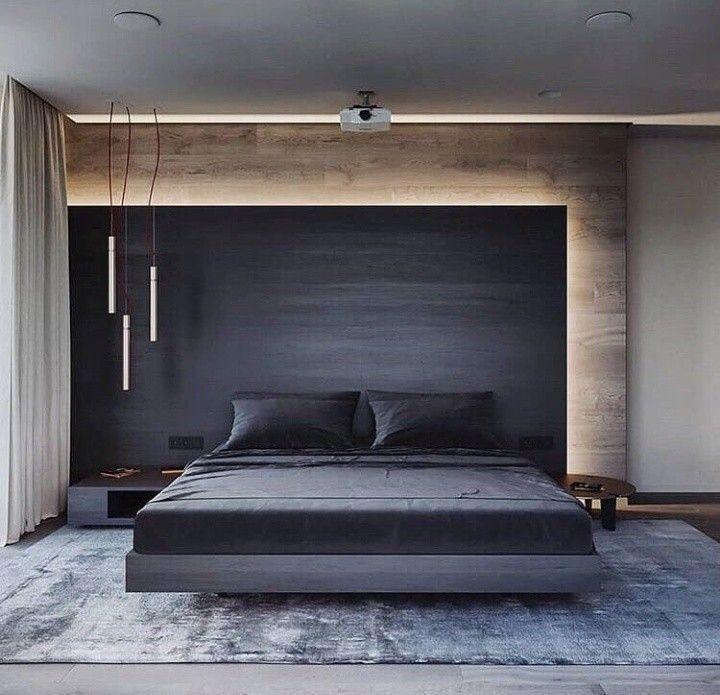 Ich liebe die Einfachheit dieses Schlafzimmers in Grau, Weiß und Holz. Trotzdem ist es sehr raffiniert – Sonia Wattson