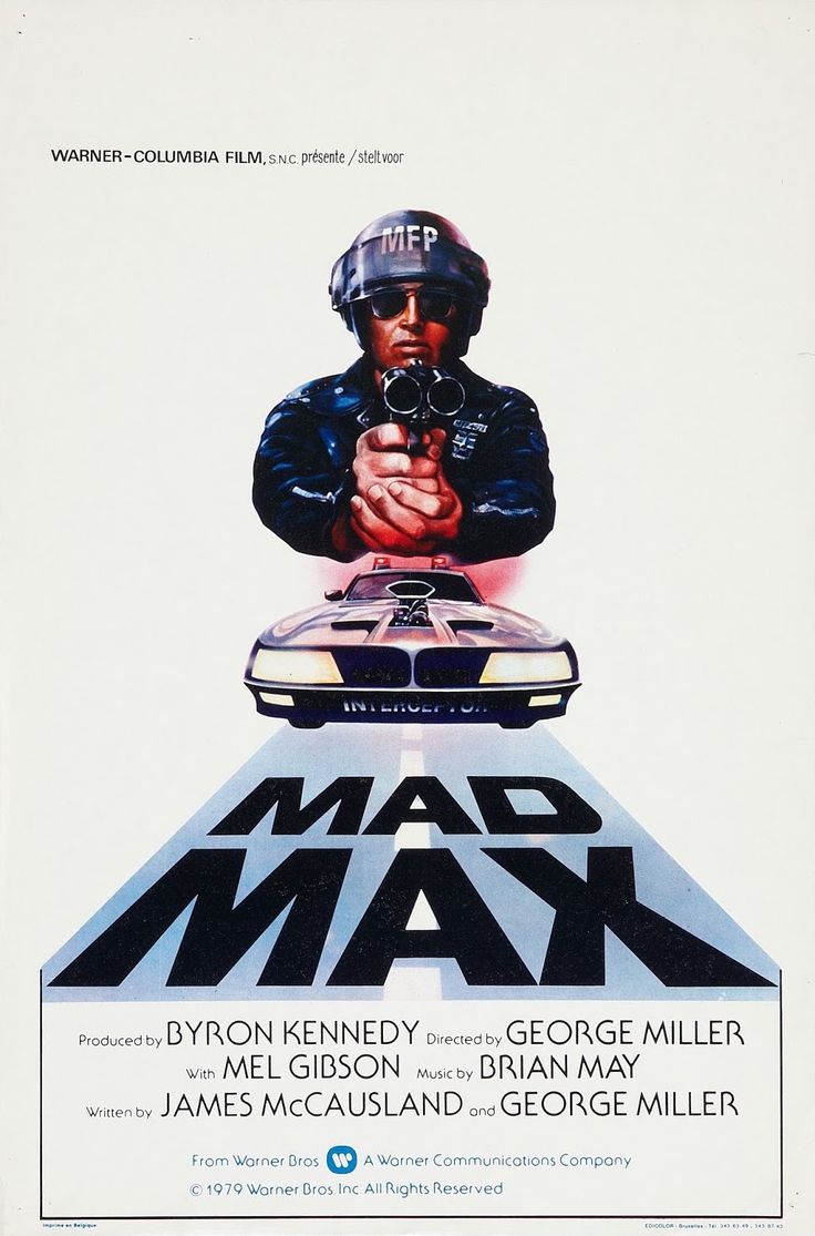 Doob picture young pamela anderson - Belgian Poster For The Original Mad Max