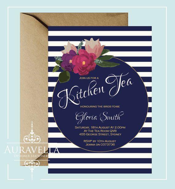 Kitchen Tea Invitation Templates Free Download: 25+ Best Ideas About Kitchen Tea Invitations On Pinterest