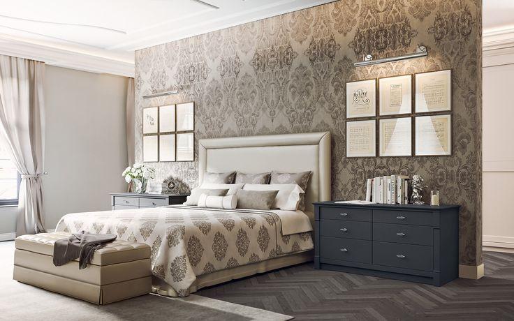 English Mood bedroom by Minacciolo 2016 #minacciolo #englishmood #chic #furniture #elegant #bedroom #bed #luxury #classic #englishstyle #bed #interiors #architecture #decor #romantic #inspirations