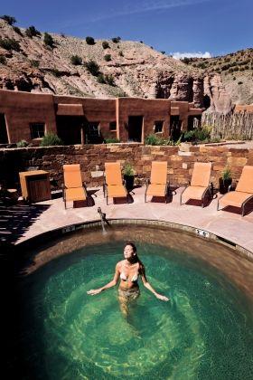 #SantaFe Day Trip Ojo Caliente Mineral Springs Resort & Spa