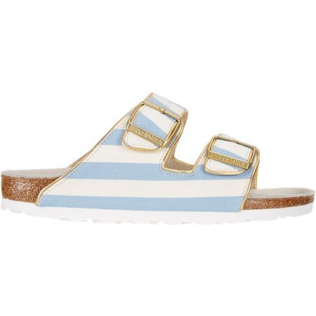 Birkenstock Stripe-Print Arizona Sandals at Barneys.com