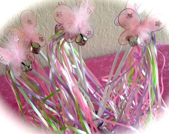 diy butterfly wands